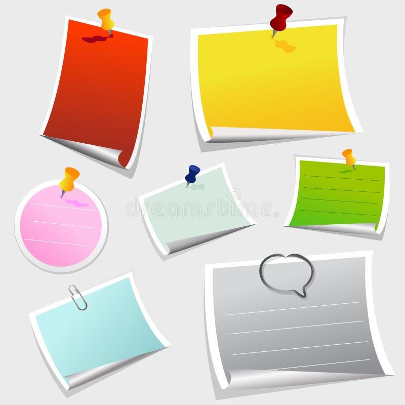 Office sticker vector illustration