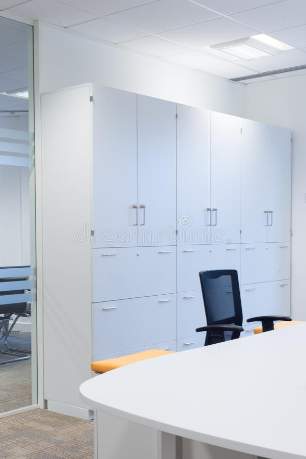 Office Storage Cabinets royalty free stock photos