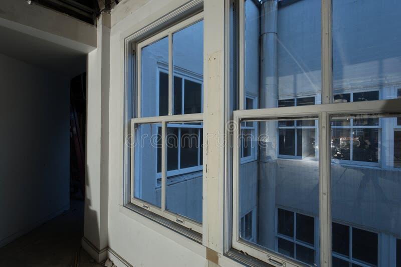 Office / Studio interior light court remodeling stock photo