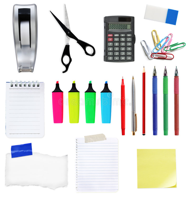 Download Office Stuff #2 stock image. Image of stationery, adhesive - 5864841