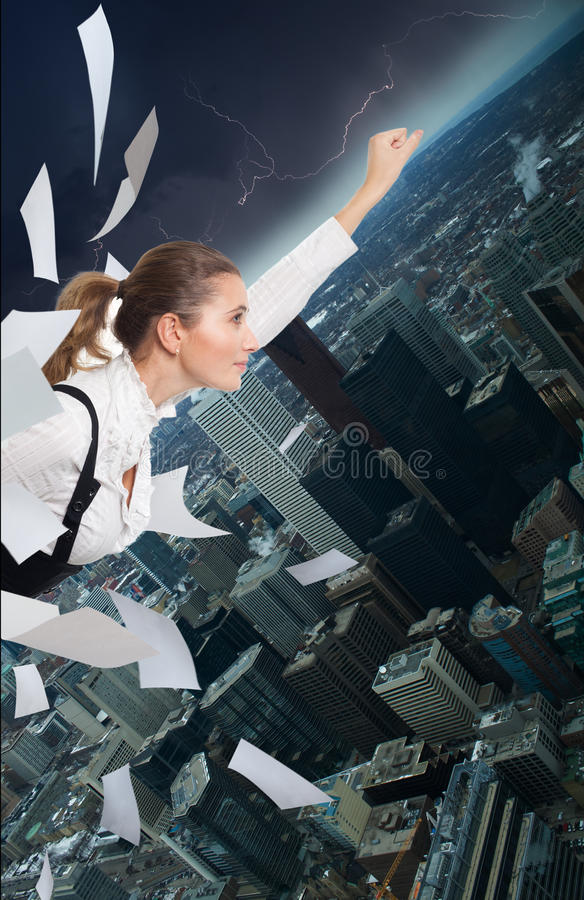 Download Office Superman Stock Photo - Image: 16591990