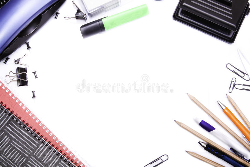 Download Office supplies stock photo. Image of punch, view, supplies - 13161814