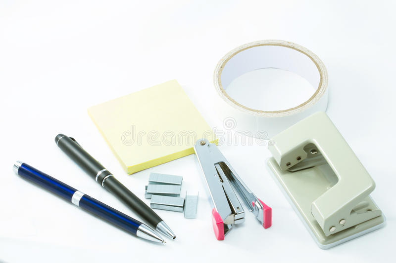 Download Office supplies. stock image. Image of equipment, business - 20627045