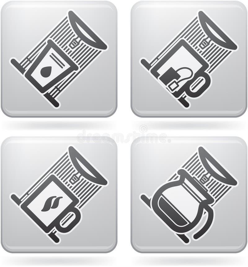 Download Office Supply stock vector. Image of vector, black, water - 22364764