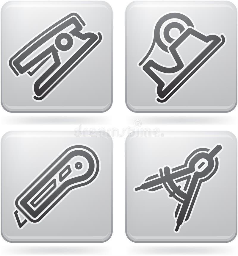 Download Office Supply stock vector. Image of school, stapler - 22364782
