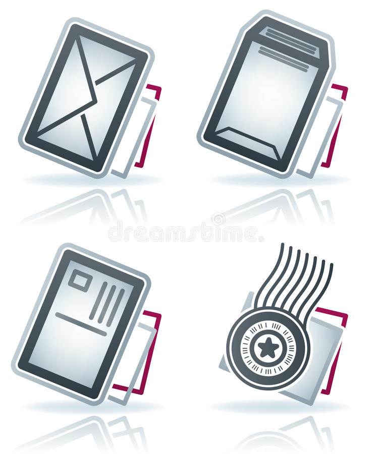 Download Office Supply stock vector. Illustration of grey, stamp - 22405084