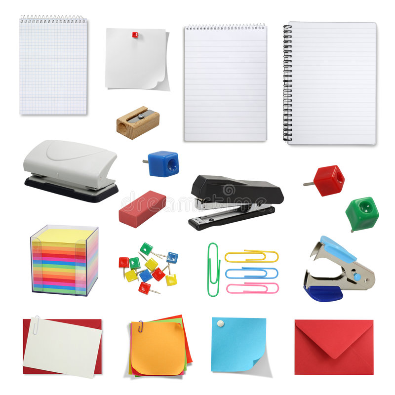 Free Office Supply Collection Royalty Free Stock Photo - 5089835