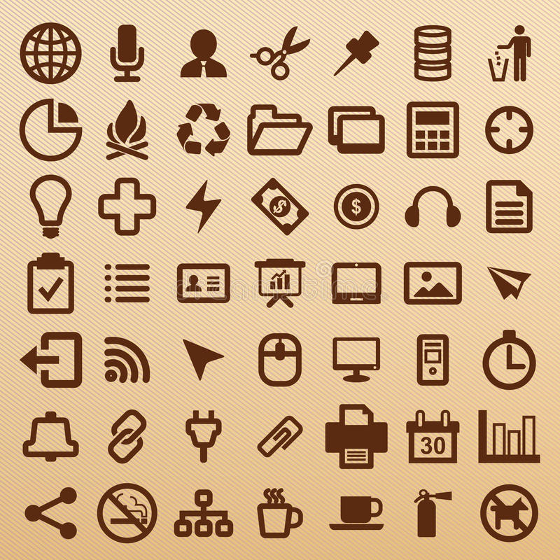 Office symbol royalty free stock images