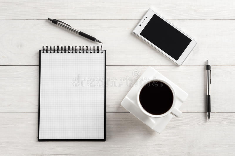 office table top. Download Office Table Top View Stock Image. Image Of Copy, Blank - 44884387 A