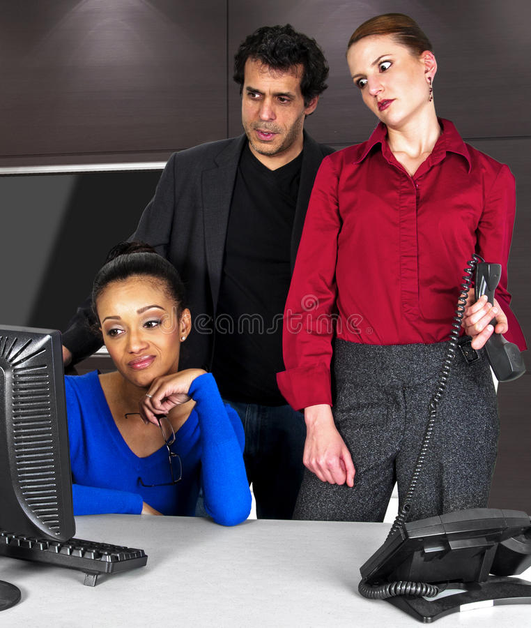 Office Team royalty free stock images