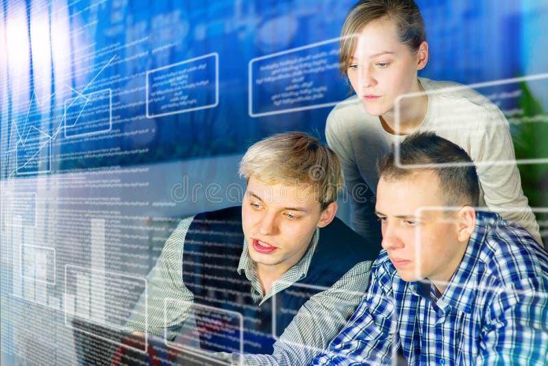 Office teamwork concept stock photos