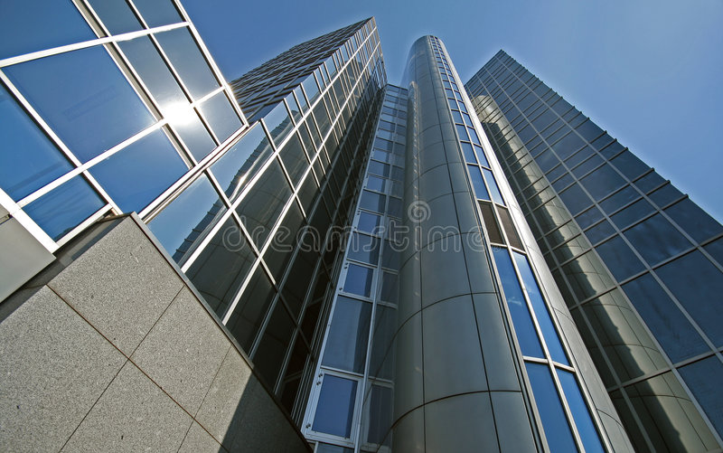 Office for telecommunication and telephone royalty free stock images