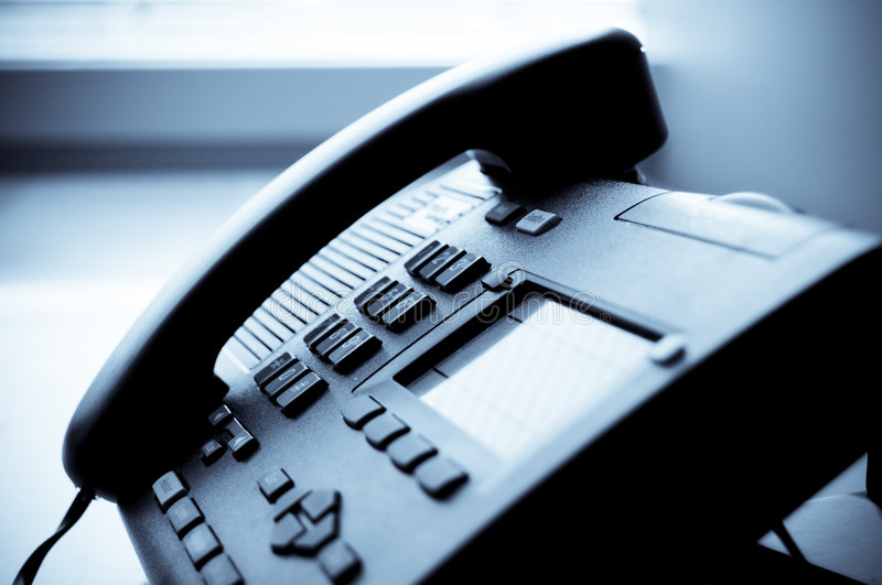 Office Telephone royalty free stock photos