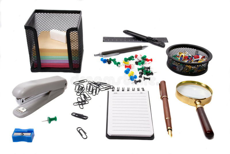 Download Office tools stock photo. Image of blank, adhesive, accessories - 4724582
