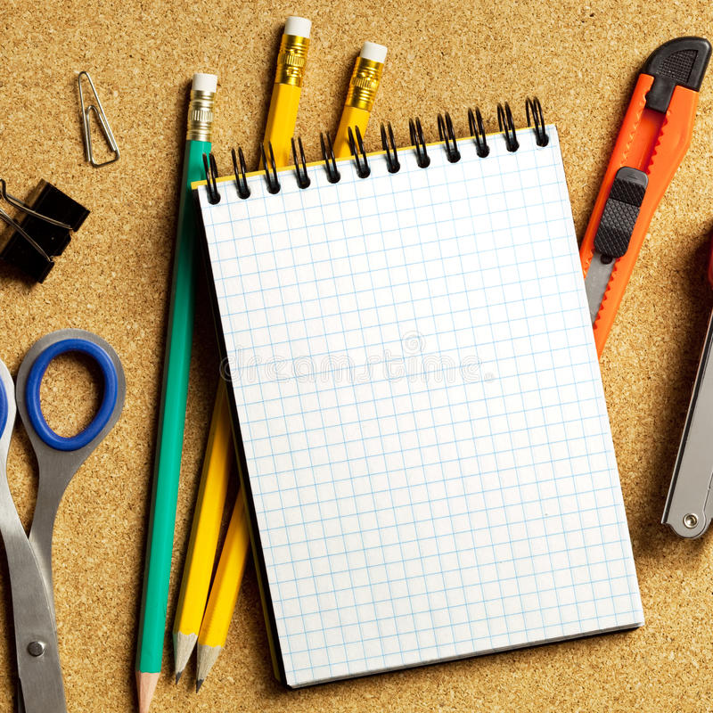 Office tools royalty free stock image