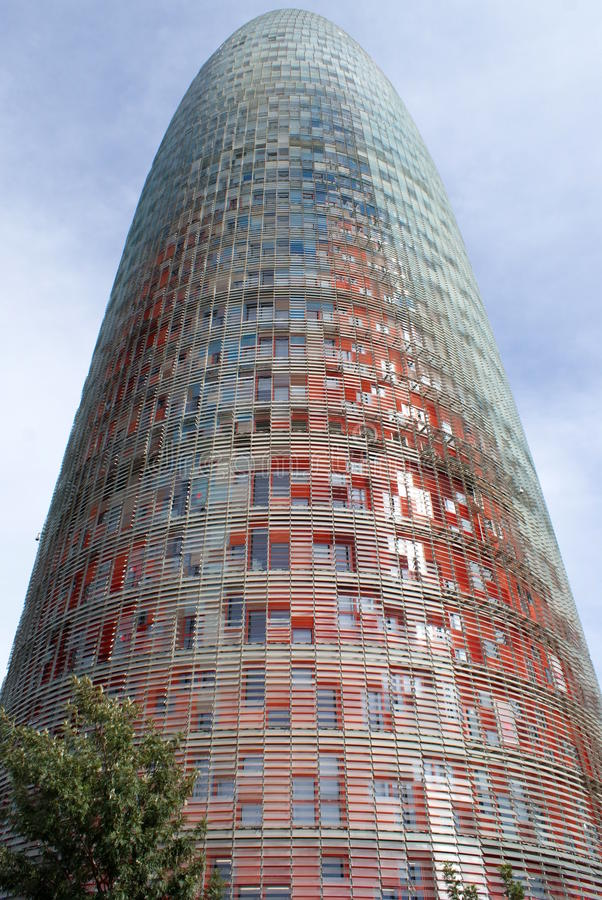 Download Office Tower in Barcelona stock photo. Image of agbar - 16022104