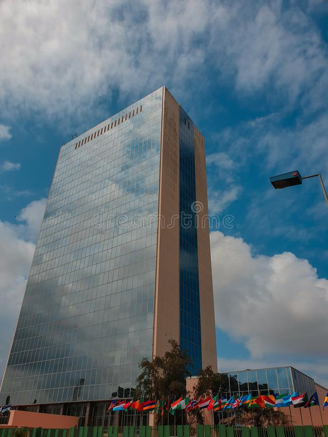 The Office tower royalty free stock photos