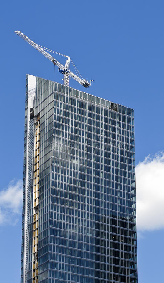 Free Office Tower Under Construction Royalty Free Stock Image - 15688256