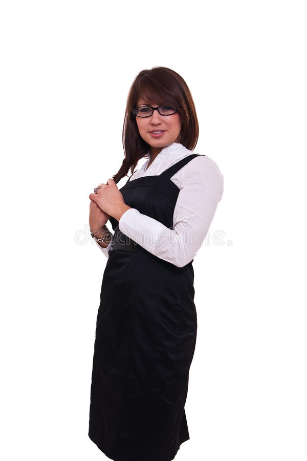 Download Office woman in studdio stock photo. Image of office - 13284782