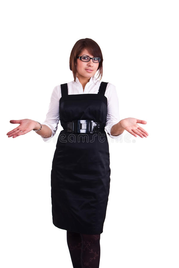 Download Office Woman In Studio Stock Photo - Image: 13388130