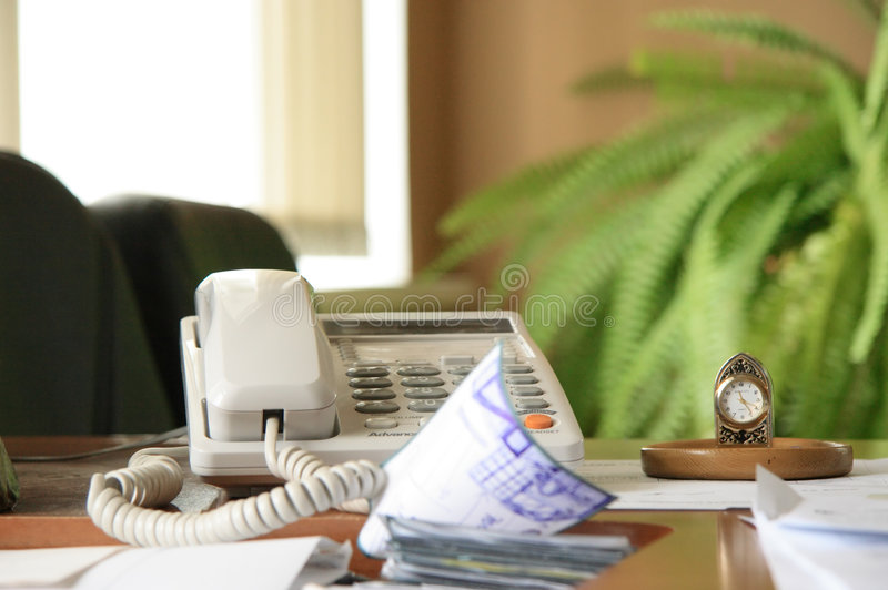 Office work. Business documents on table stock photo