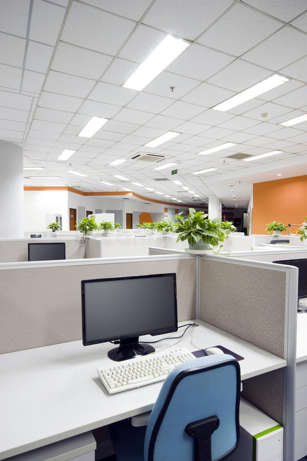 Office work place. In Beijing stock photos