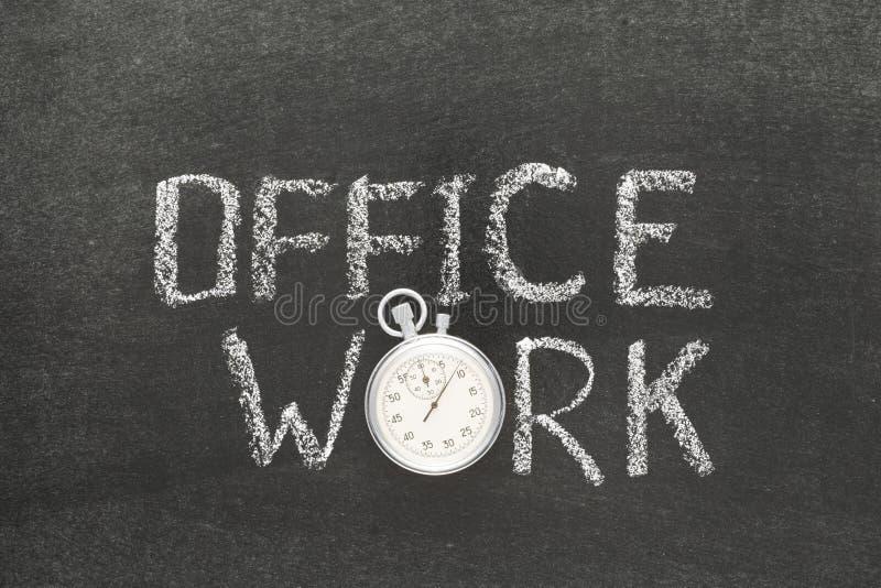 Office work watch stock photos
