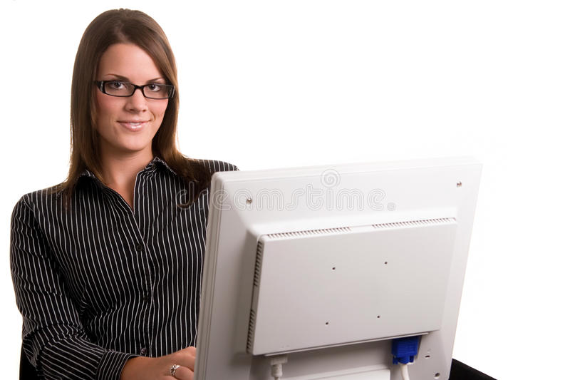 Office Worker royalty free stock photo