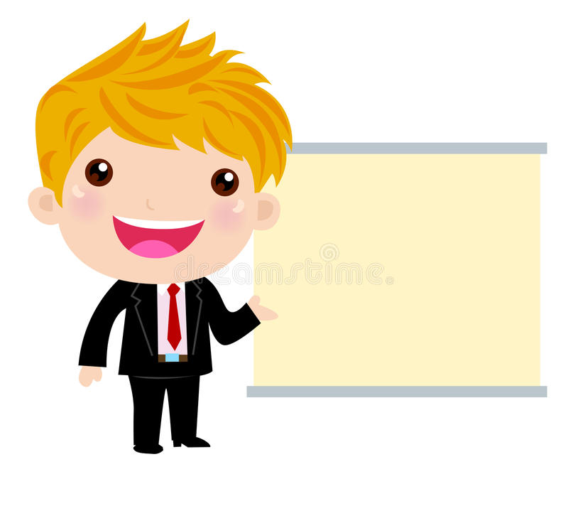 Download Office worker stock vector. Illustration of banner, business - 22045111