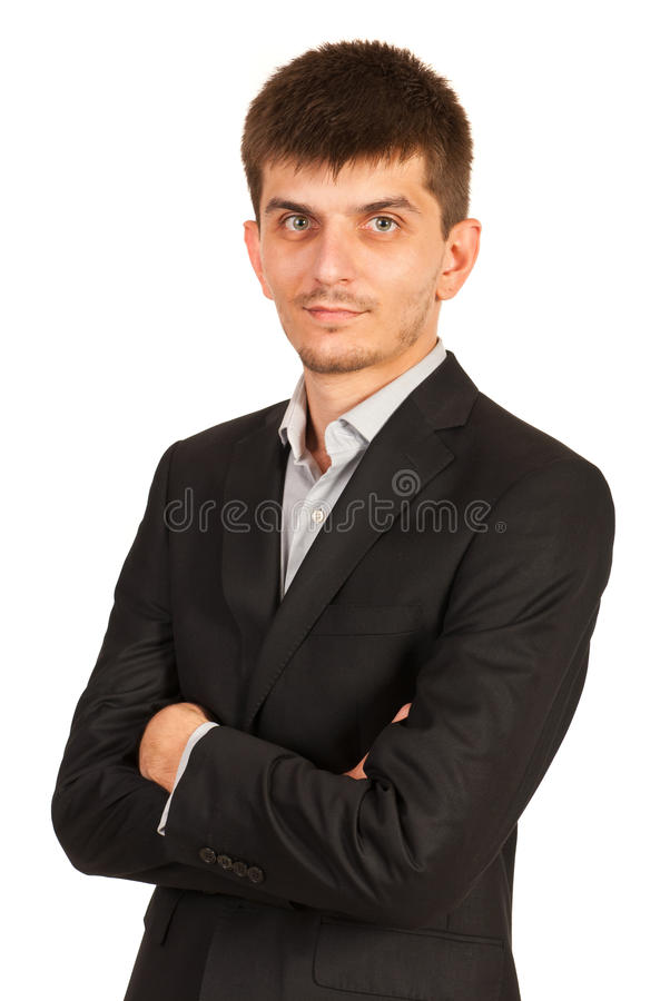 Download Office Worker With Arms Folded Royalty Free Stock Photos - Image: 34614648