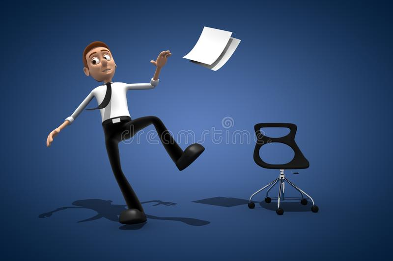 Office worker stock photography