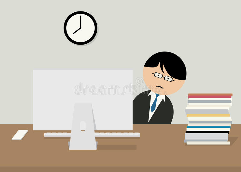 Office worker. stock images