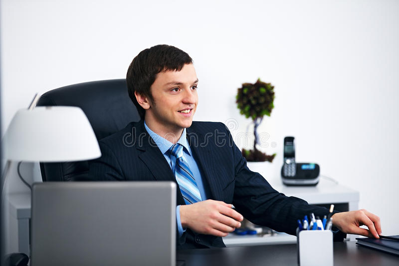 Office worker in office stock photos