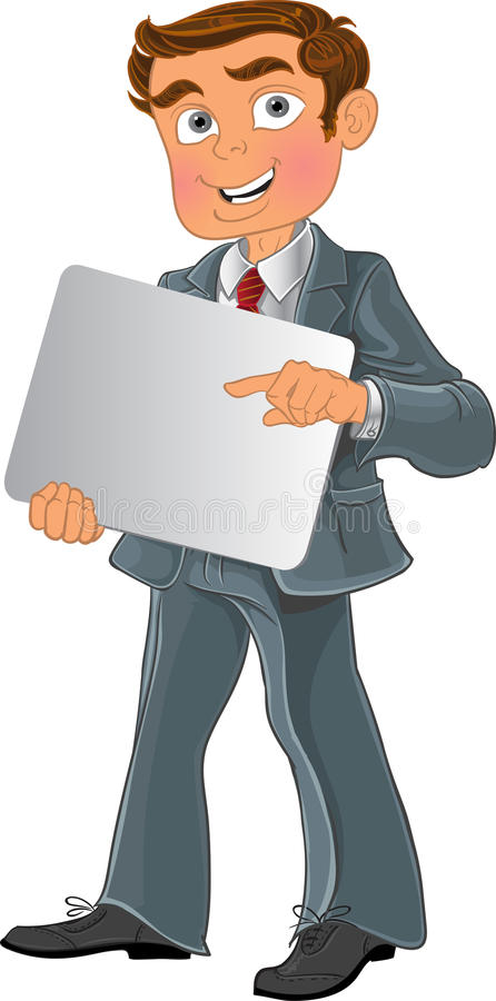 Office worker with text background stock photos