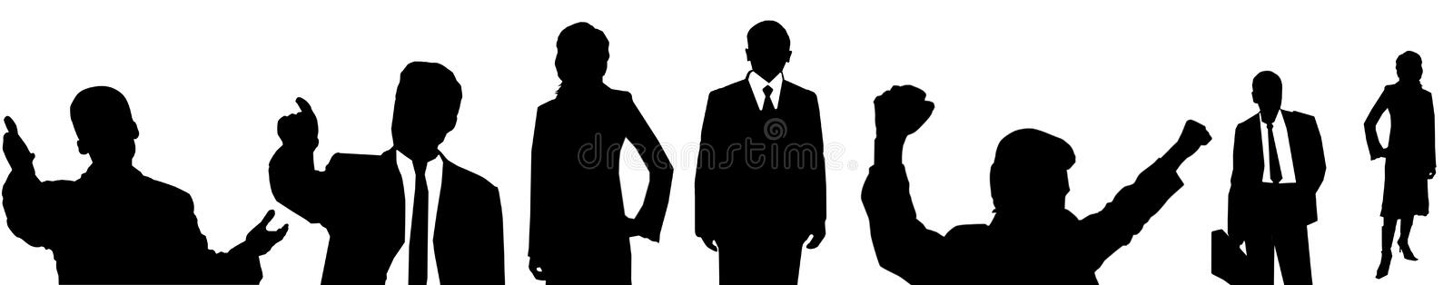 Office-workers stock illustration