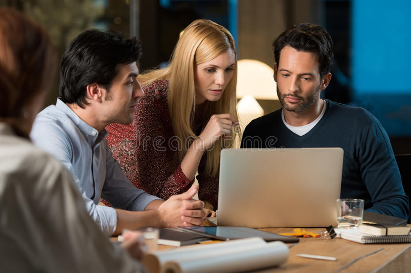 Office workers stock photos
