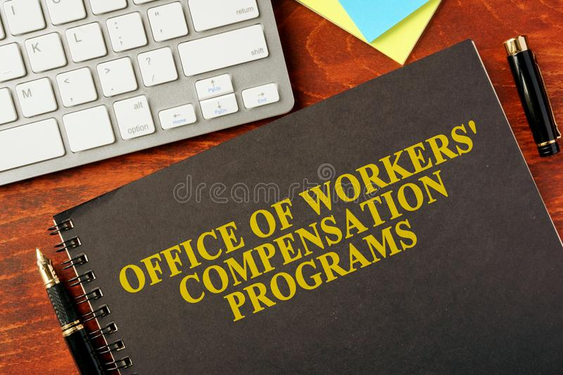 Office of Workers` Compensation Programs OWCP. stock photography