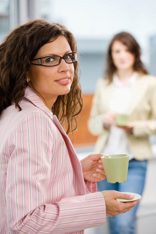 Free Office Workers Drink Coffee Stock Images - 7613374