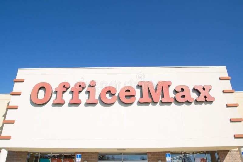 OfficeMax image libre de droits