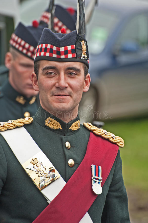 Download Officer In Charge Of Protection At Braemar Editorial Photography - Image: 26448622
