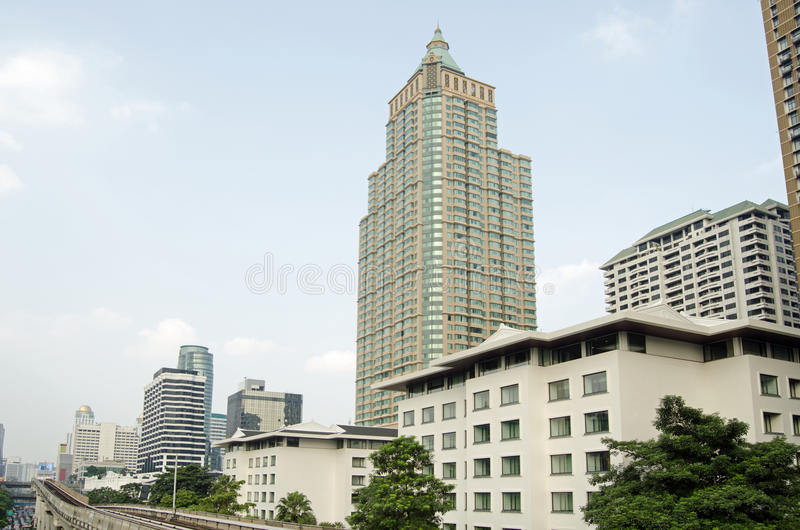 Download Offices And Apartments, Lumpini District, Bangkok Stock Image - Image of image, district: 39978041