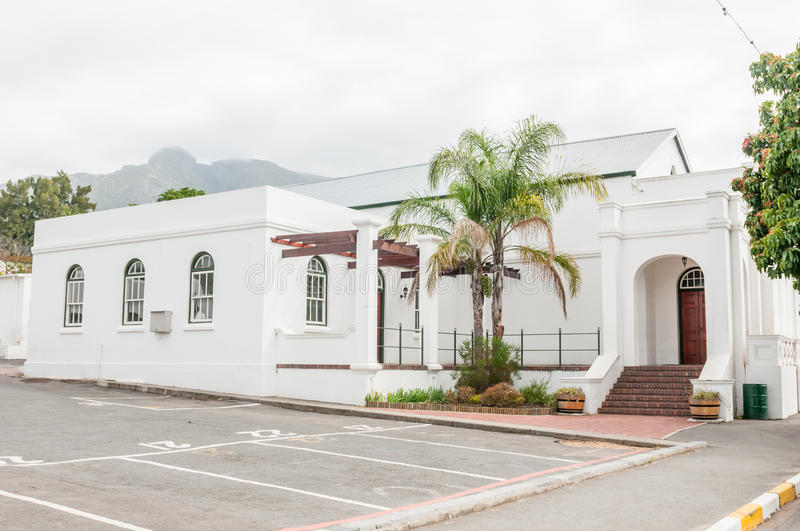 Offices of the Swellendam Municipality. The offices of the Swellendam Municipality which includes the towns of Barrydale and Suurbraak stock images