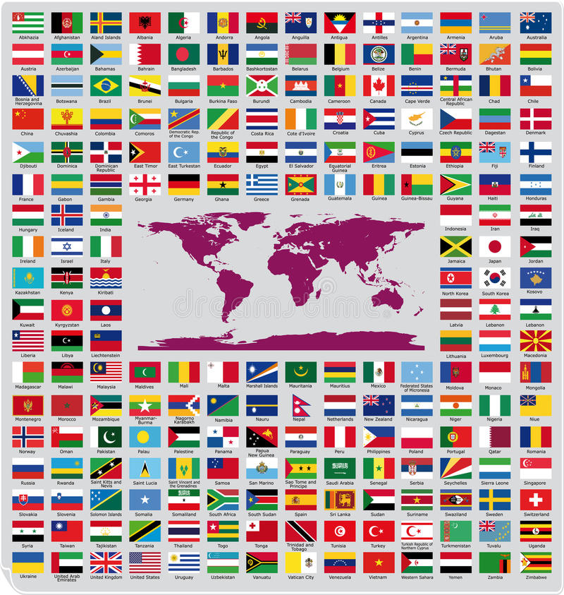 Free Official Country Flags Royalty Free Stock Images - 34403649