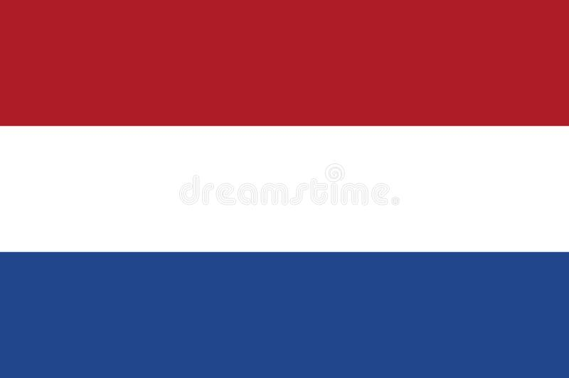 Flag of Netherlands stock photos