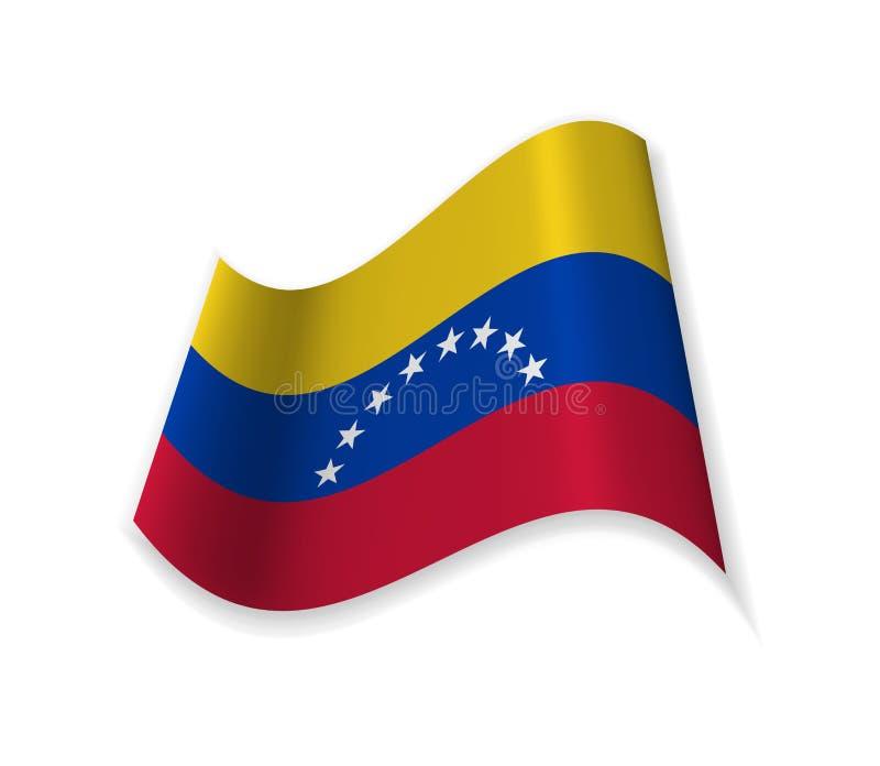 The official Flag of Venezuela. vector illustration
