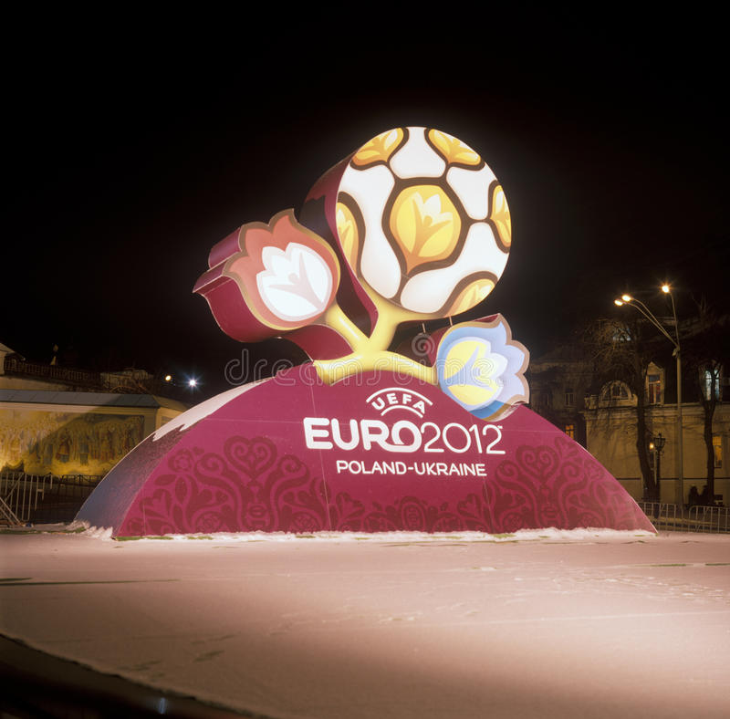 Download Official Logo For UEFA EURO 2012 Editorial Photography - Image: 12325482
