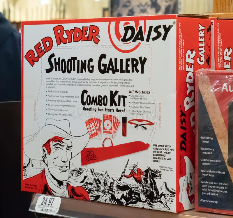 The Official Red Ryder BB Gun Accessories/ Illustrative Editorial royalty free stock photography
