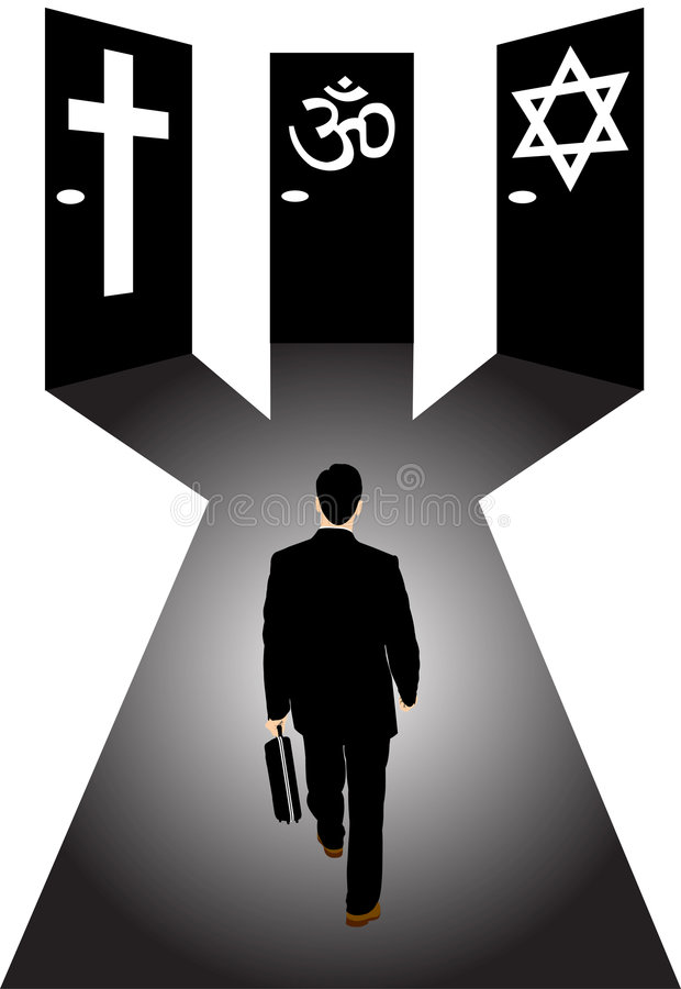 Download Official Religion And Businessman Stock Vector - Image: 9178064
