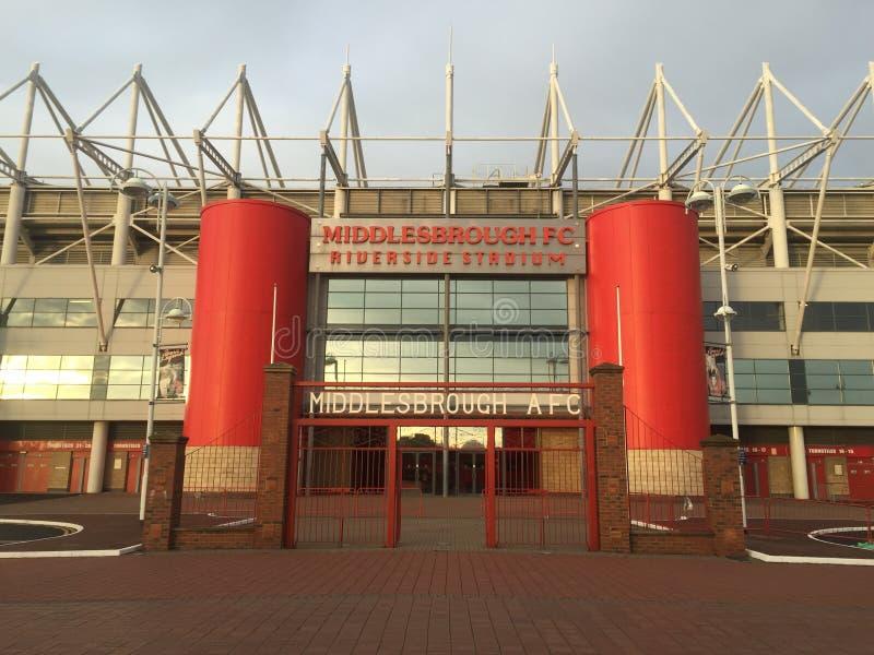 Middlesbrough Riverside Stadium stock photography