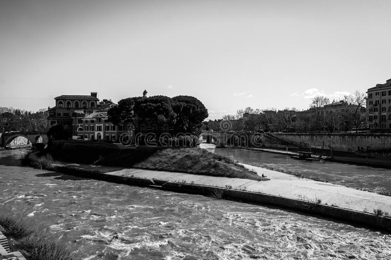 Rome , Roma Italy. An official state building in Rome / Roma in Italy royalty free stock images